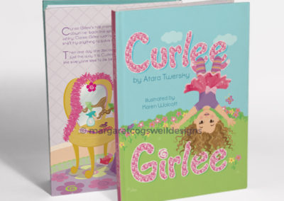 Curlee Girlee Book Design