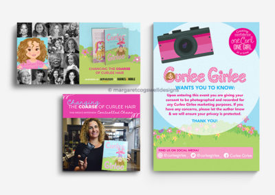 Curlee Girlee Print and Social Design