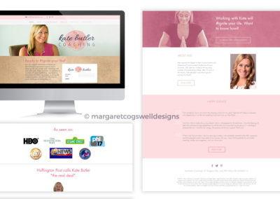 Kate Butler Coaching Website Design