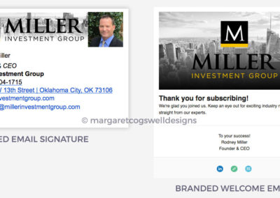 Miller Investment Group Email Marketing Design