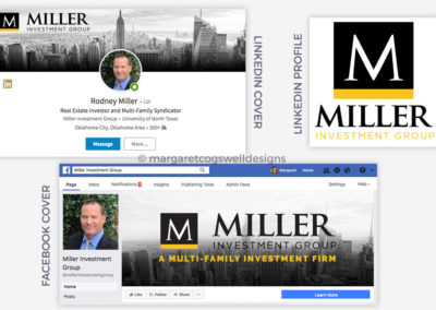 Miller Investment Group Social Media Designs