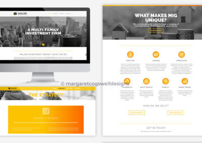 Miller Investment Group Website Design